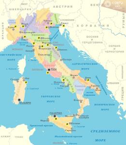 Какое море омывает море Корфу?